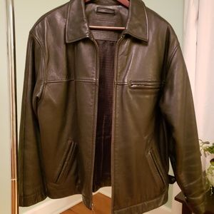 Roundtree & Yorke genuine leather jacket